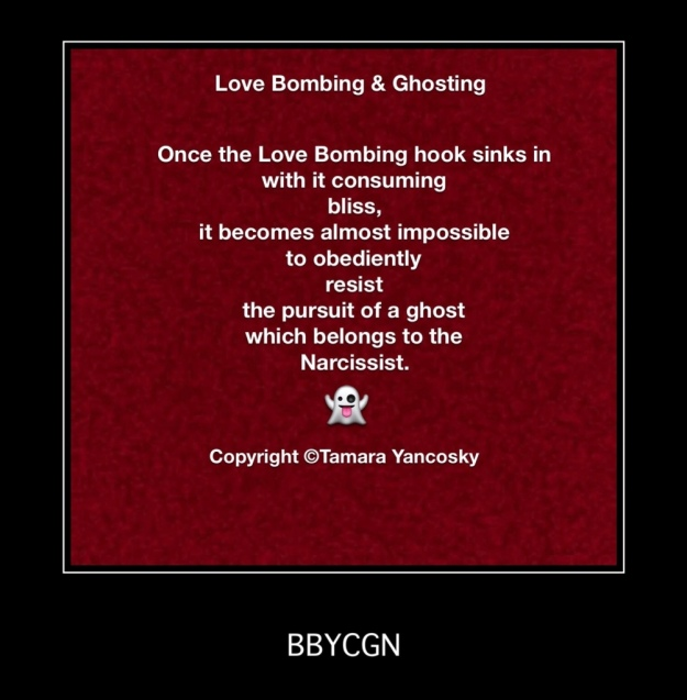 When Narcissists' Love Bombs Detonate, BBYCGN